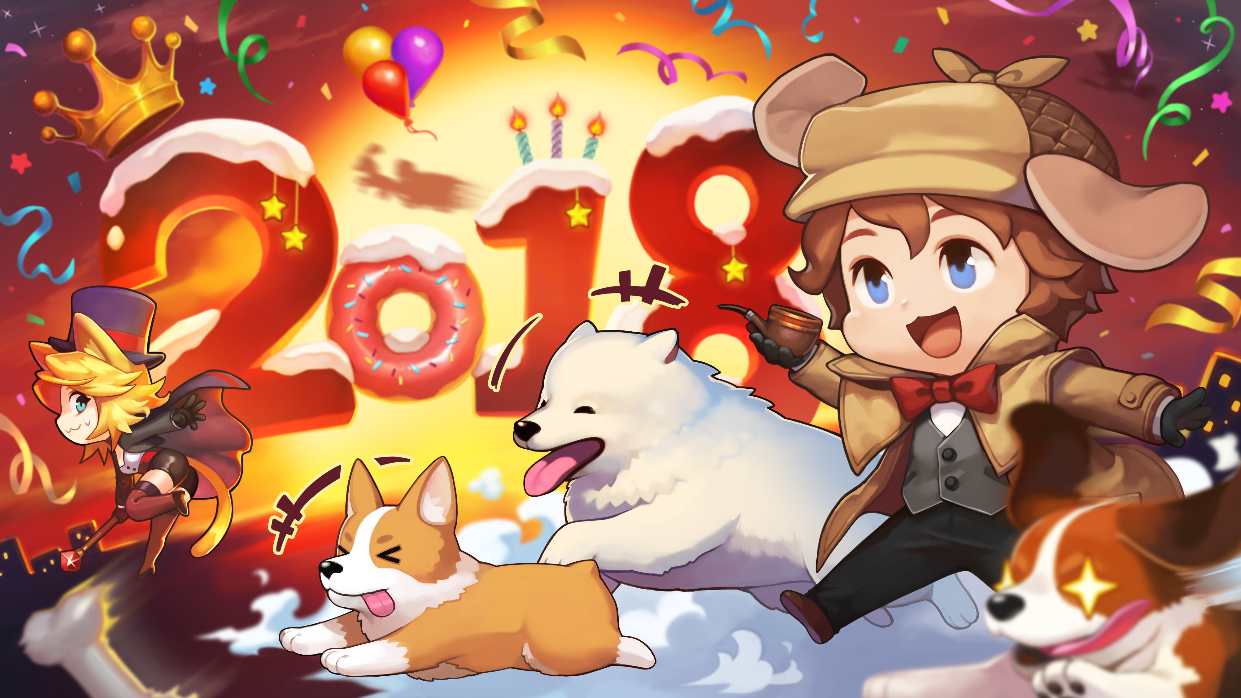 new year 2018 wallpaper